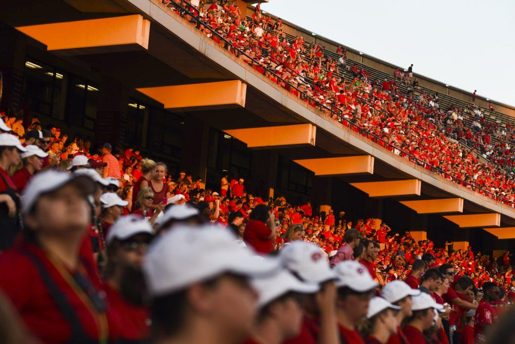 A record-setting crowd took to LT Houchens-Smith Stadium to watch Western Kentucky University take on Vanderbilt on Saturday, Sept. 24, 2016.